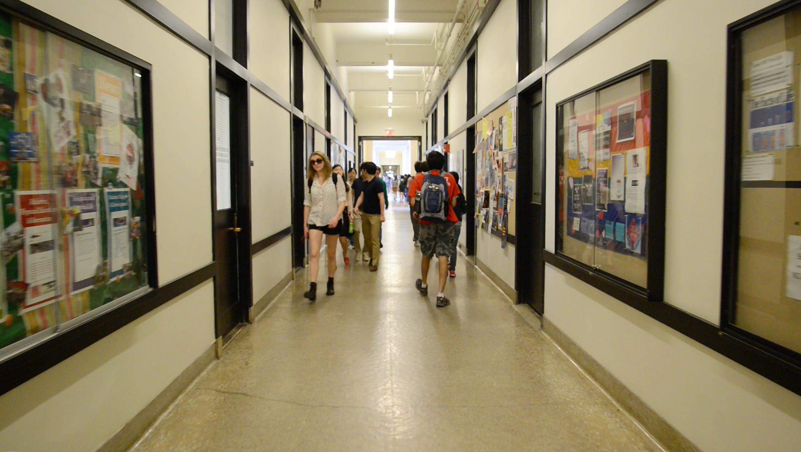 MIT's Infinite Corridor; photo: Christopher Harting