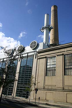 MIT Central Utilities Plant, current day