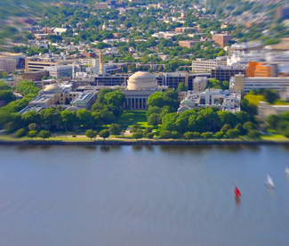 Charles River and MIT