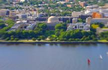 View of MIT and Charles River