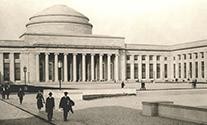 Killian Court in 1916; photo courtesy of MIT Museum