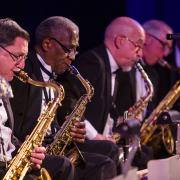 Boston Jazz Orchestra at the MIT dance party on May 7