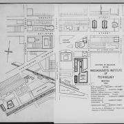 Map of Boston Campus, 1907; courtesy of MIT Library Archives