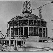 Great Dome construction 1916, courtesy of the MIT Museum
