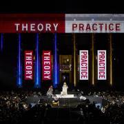 Theory or Practice building facade