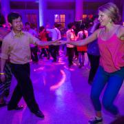 Guests at All that Jazz MIT dance party May 7
