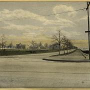 Memorial Drive in 1900 (looking East): image courtesy of MIT Museum