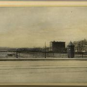 Memorial Drive in 1900 (looking west): image courtesy of MIT Museum
