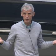 Professor Wolfgang Ketterle; 2016 MIT Open House