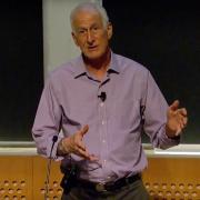 Prof. Jeffrey Hoffman at 2016 MIT Open House