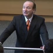 Prof. Robert Merton at 2016 MIT Open House