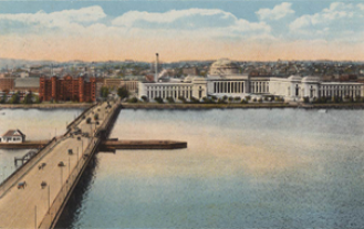 The Charles river and MIT buildings, By Mason Brothers & Co, Boston, Massachusetts [Public domain], via Wikimedia Commons