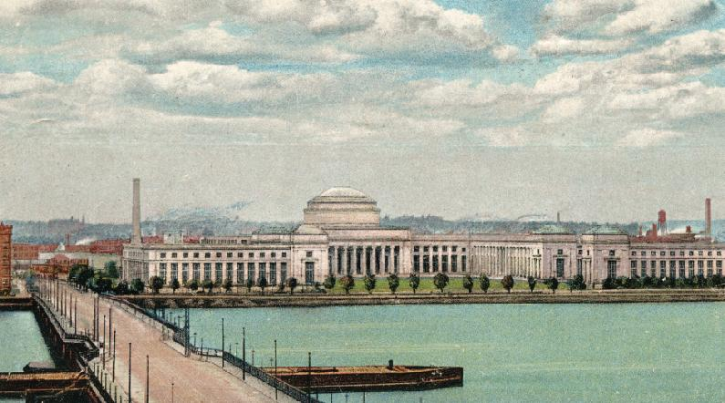 Historic illustration: Dome from bridge