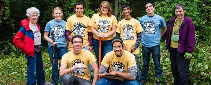CityDays volunteers group image